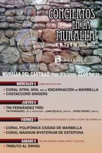 conciertos en la muralla marbella