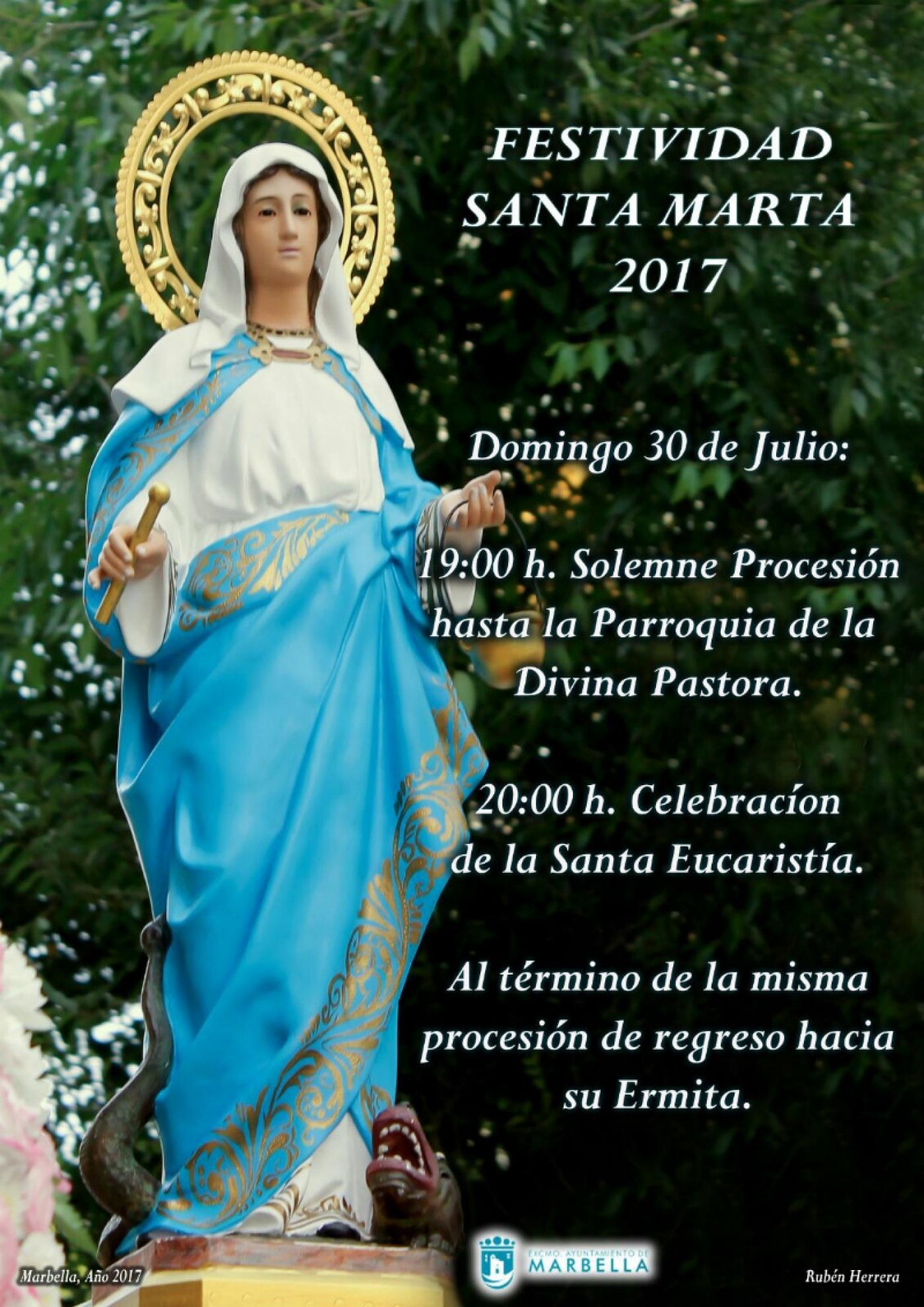 Marbella Sanpedro Com Festividad Santa Marta Marbella
