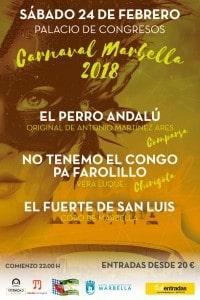 perro carnaval de marbella 2018