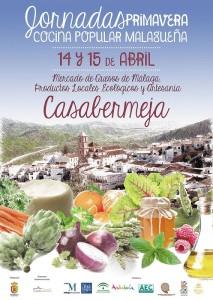 Jornadas de cocina popular malagueña de primavera Casabermeja