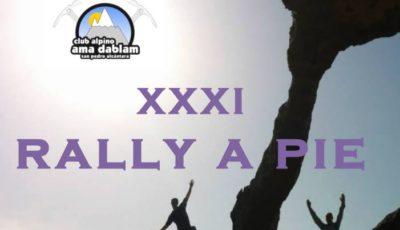 XXXI Rally a Pie Club Alpino Ama Dablam