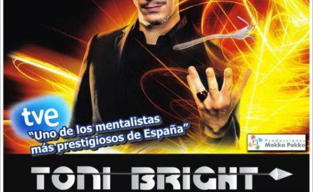 El mentalista Toni Bright, en Marbella