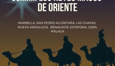 reyes magos en malaga, marbella, san pedro, estepona ojen benahavis