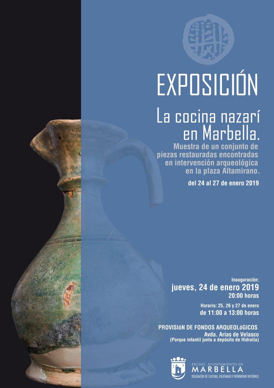 """Resultado de imagen de """"la Cocina Nazarí"""" exposición marbella"""