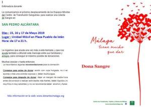 donar sangre san pedro