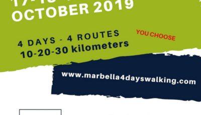 4 dias andando marbella