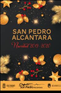 cartel navidad san pedro
